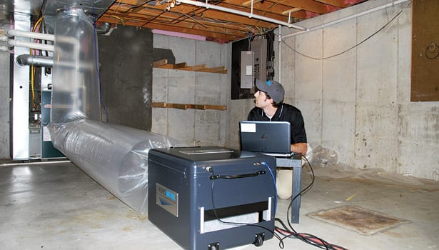 Pretesting your ductwork before air duct sealing