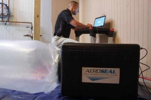 Sealing your air duct system