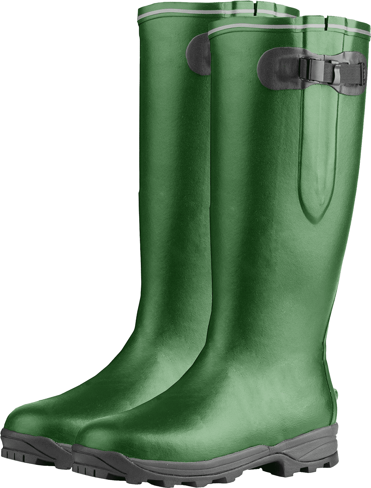Rubber boots needed to mitigate flood damage in home